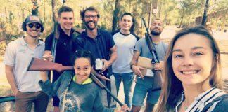 equipe journee de chasse