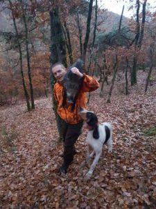 Fabien, hôte du mois chez journée de chasse