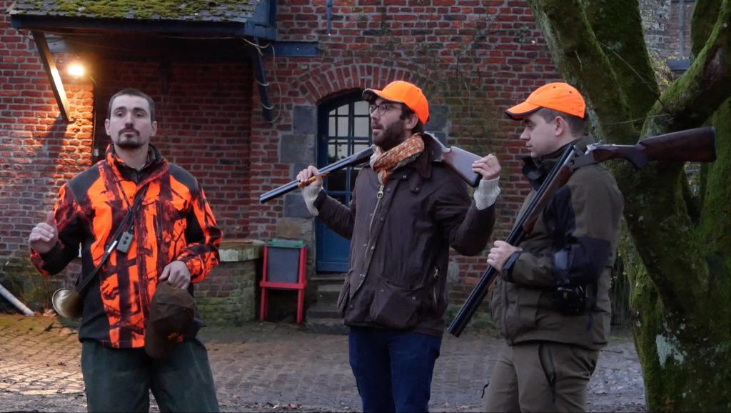 Discours de sécurité avant d'attaquer la chasse