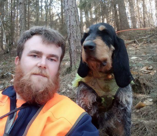 Julien hôte de chasse sur journée de chasse