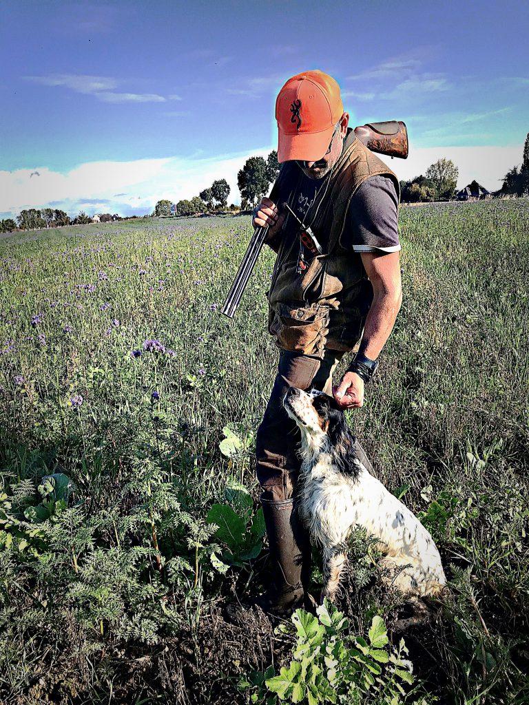 Nelson hôte sur journée de chasse
