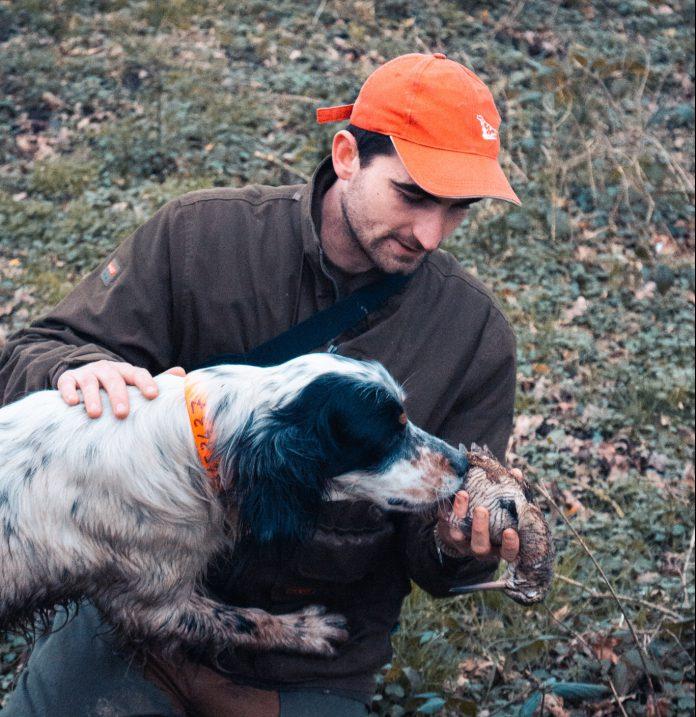 L'hôte du mois : Arthur et son chien à la chasse