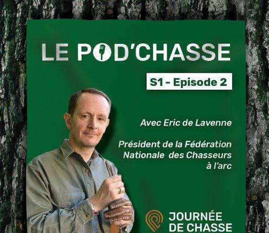 Eric de Lavenne président de la fédération nationale des chasseurs à l'arc